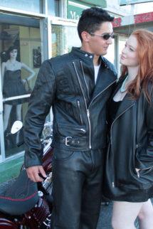 Motorbike Jacket 2 Zips