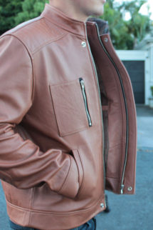 NZ Calf Leather Jacket